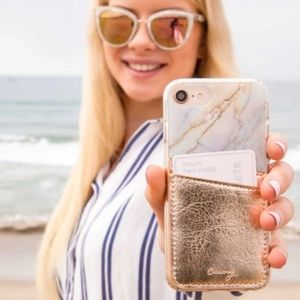 Casery Rose Gold Phone Pocket